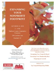 Cover photo for Expanding Your Nonprofit Footprint