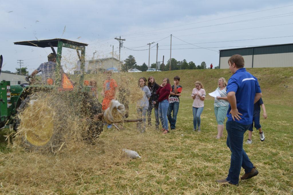 tractor demonstration