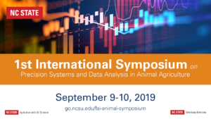Cover photo for 1st International Symposium on Precision Systems and Data Analysis in Animal Agriculture