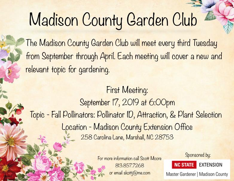 Garden Club flyer image