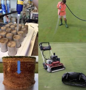 pesticide fate study