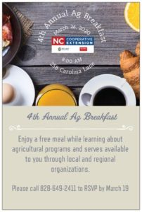 Cover photo for 4th Annual Ag Breakfast
