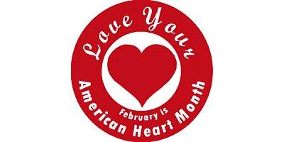 American Heart Month logo image