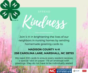 Spread Kindness flyer