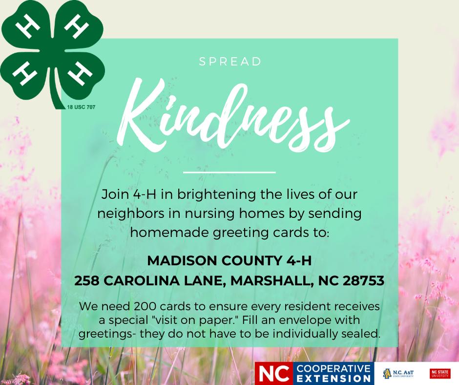 Spread Kindness flyer image