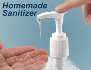 Cover photo for Homemade Hand Sanitizer