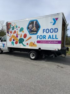 Cover photo for Y Mobile Market and Madison County Team Together to Nourish the Community