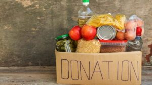 Cover photo for How Can I Donate Food?