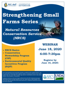 Cover photo for N.C. A&T Strengthening Small Farms Series Part 2