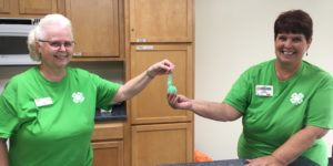 Holding Rock Candy (Savvy Science)
