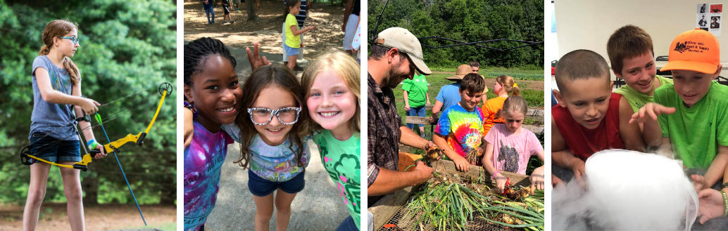 Youth at 4-H camps.