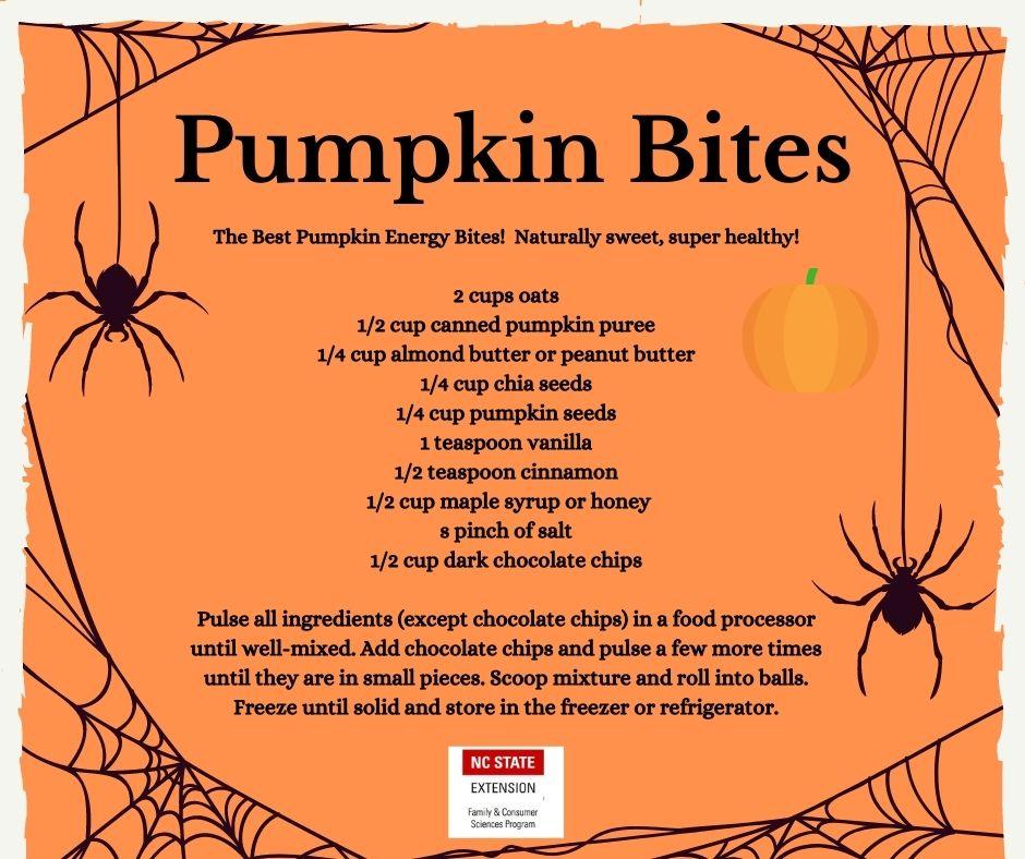 Pumpkin bites recipe