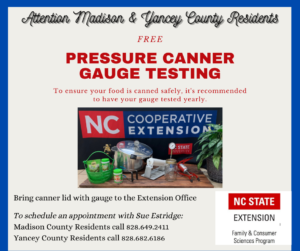 Cover photo for Pressure Canner Gauge Testing
