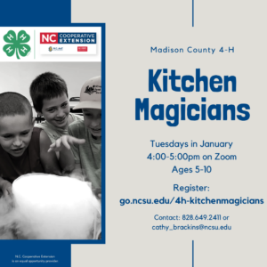 Kitchen Magicians flyer