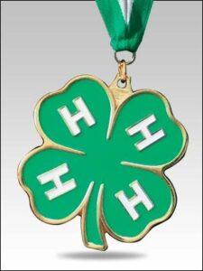 clover medal