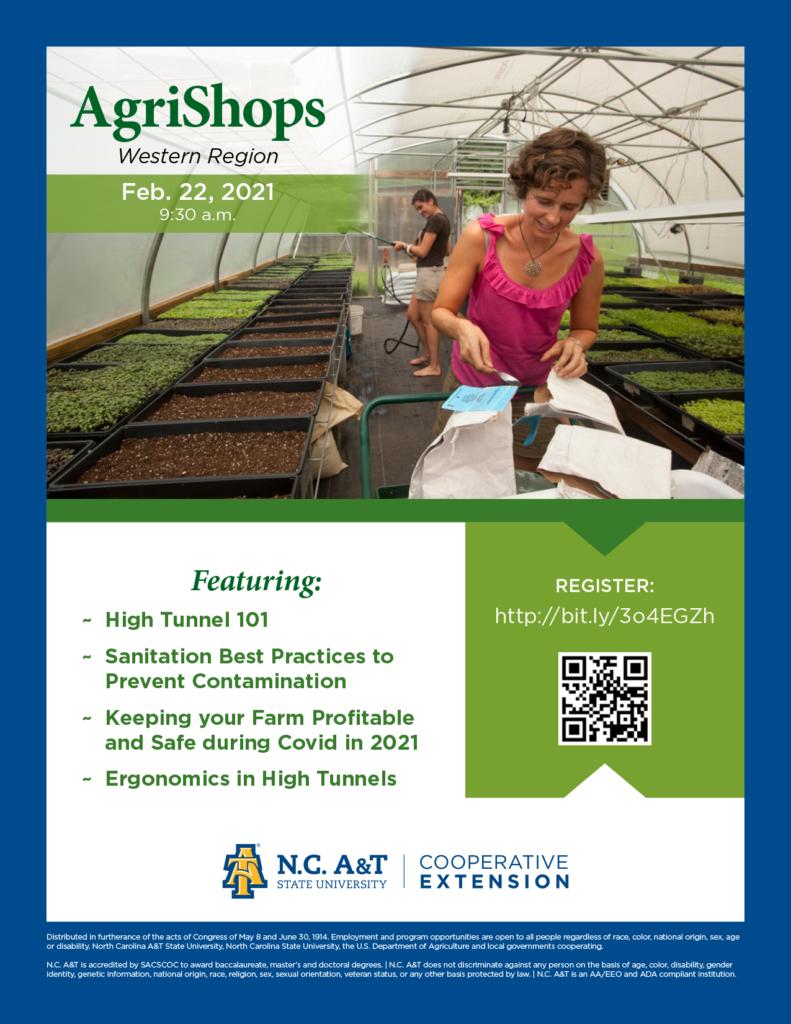 AgriShops - Western Region flyer