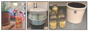 Fermenting materials