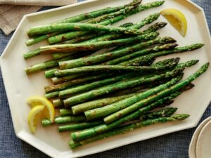 Cover photo for Oven-Roasted Asparagus