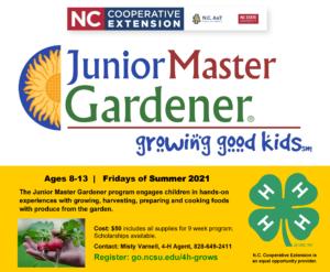 Junior Master Gardener Flyer